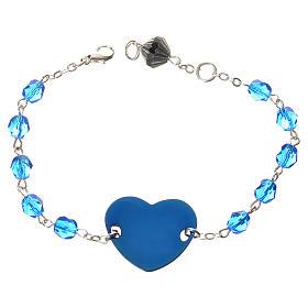 Dizainier bracelet semi-cristal 6mm s2