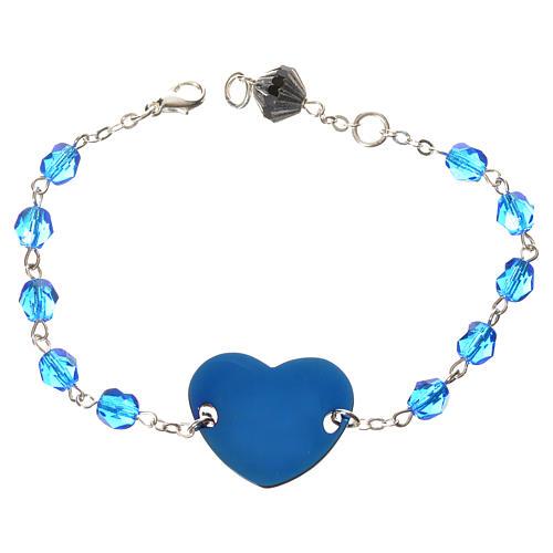 Dizainier bracelet semi-cristal 6mm 2