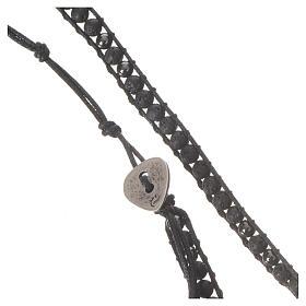 Rosenkranz Armband Hematit Perlen 4mm s2