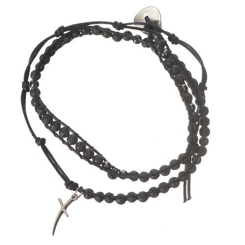 Rosenkranz Armband Hematit Perlen 4mm 1