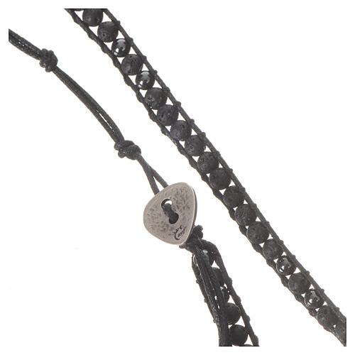 Rosenkranz Armband Hematit Perlen 4mm 2