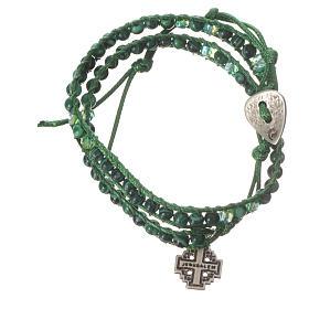 Bracelet chapelet malachite 6mm s4
