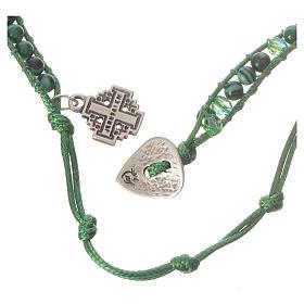 Bracelet chapelet malachite 6mm s3