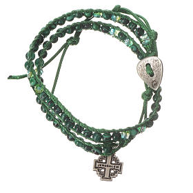 Bracciale Rosario malachite 6 mm s1