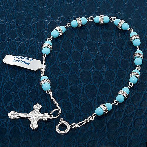 Silver bracelet and gemstone 5