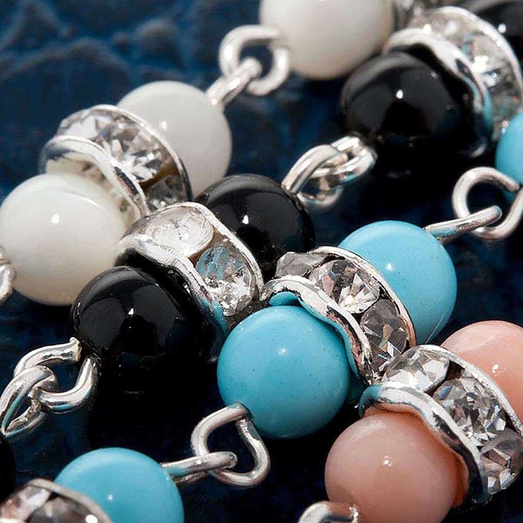 Bracelet argent et pierres dures 4
