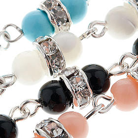 Silver bracelet and gemstone s7