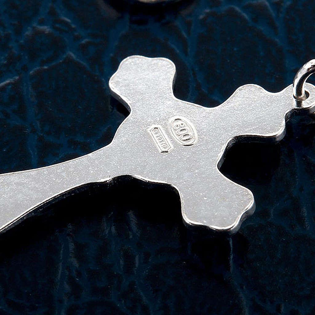 Bracelet dix grains en argent et perles de ruisseau 4