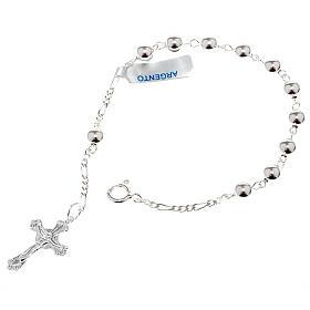 Silver bracelet single decade s1