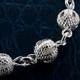 Bracelet dix grains, filigrane et  argent s4