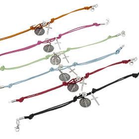 Bracelet argent et corde s1