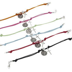 Bracelet with coloured string s3