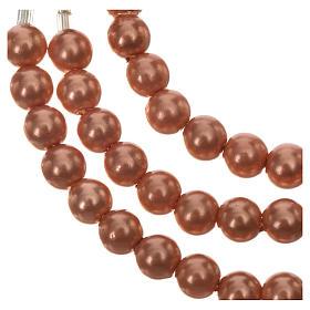 Pulsera rosario Medjugorje perlas marfil s4