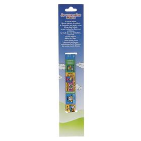Child Prayer bracelet in fabric, Hail Mary FRA s2