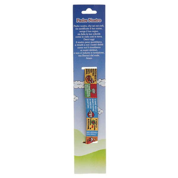 Children Prayer bracelet in fabric, Our Father ITA 4
