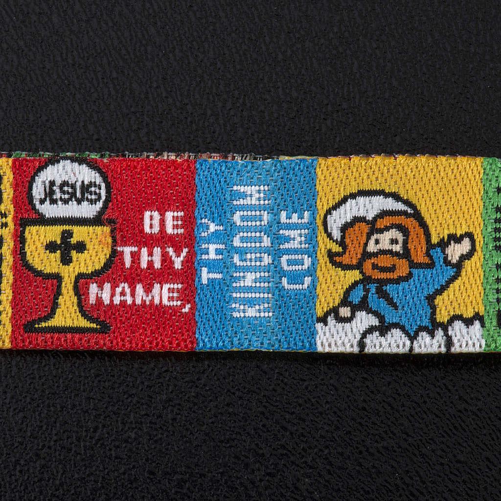 Bracelet et marque pave Our Father ENG 4