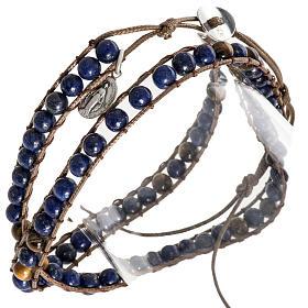 Bracelet religieux lapis-lazuli 6mm s1