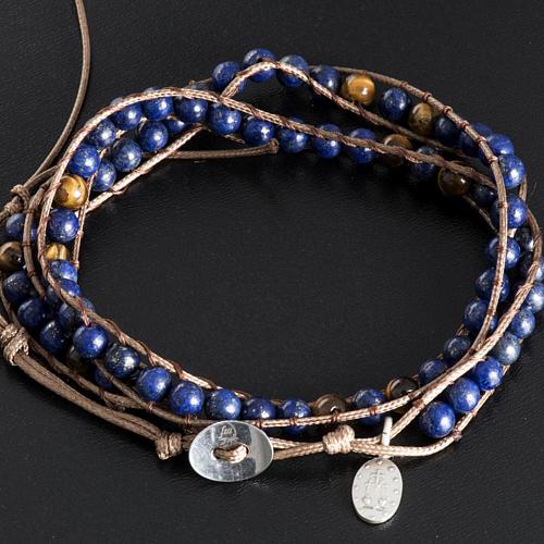 Bracelet religieux lapis-lazuli 6mm 3