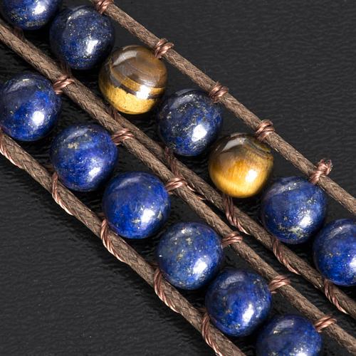 Bracelet religieux lapis-lazuli 6mm 5