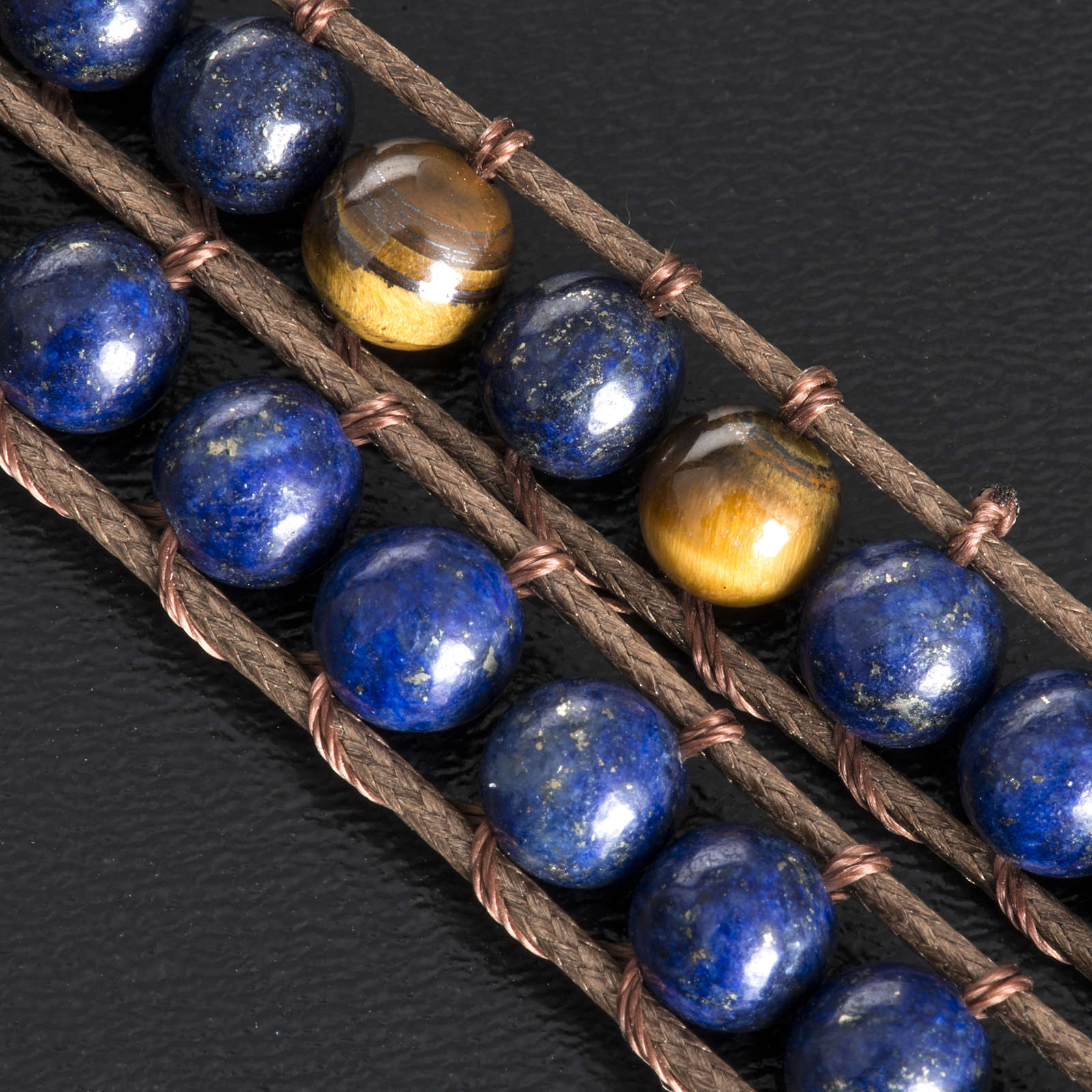 Bracciale Lapislazzuli 6 mm 4