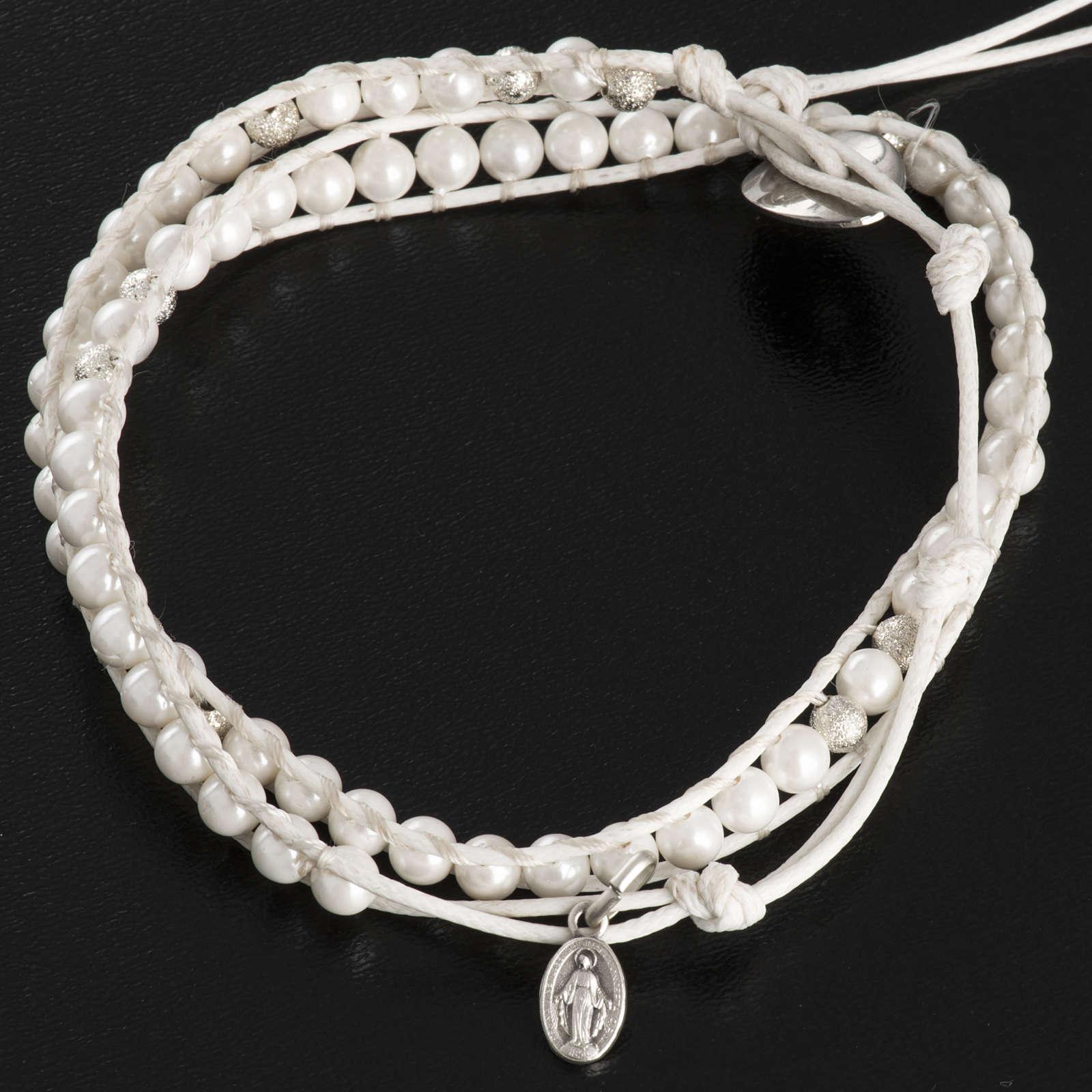 Mother of pearl bracelet 4mm 4