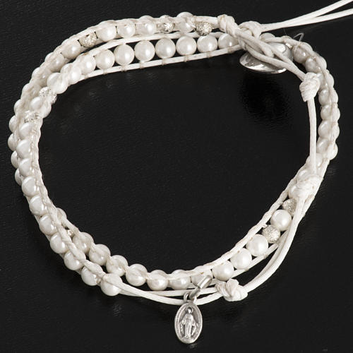 Mother of pearl bracelet 4mm 3