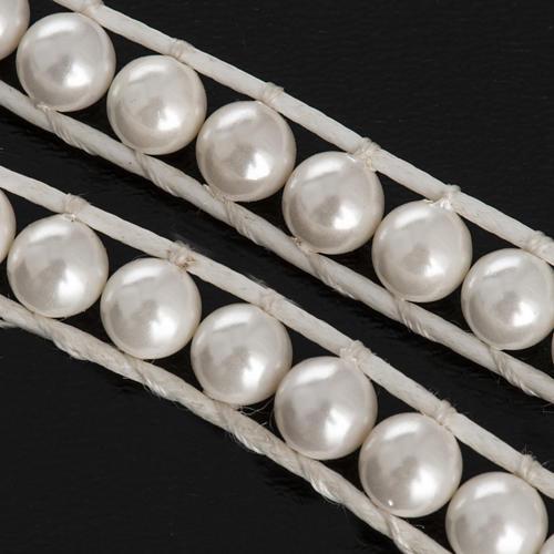 Pulsera de perlas 6mm 6