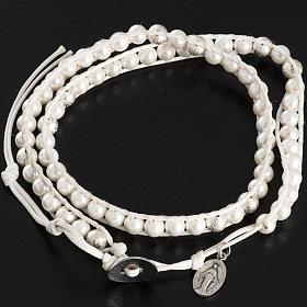 Bracelet chapelet en nacre 6mm s3
