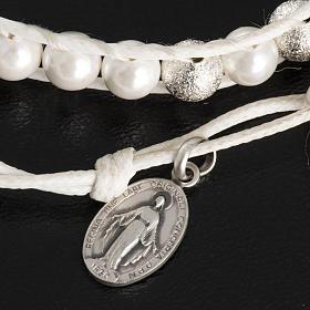 Bracelet chapelet en nacre 6mm s4