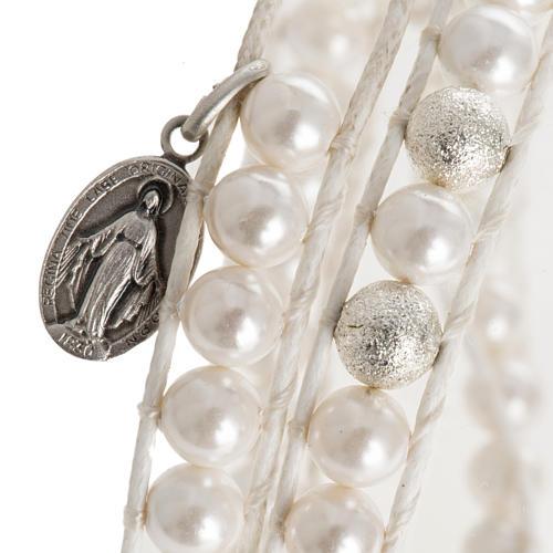 Bracelet chapelet en nacre 6mm 2