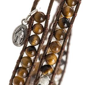 Bracelet chapelet oeil de tigre 4mm s2