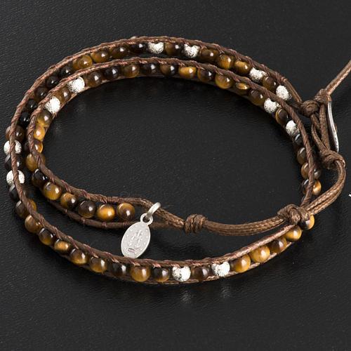 Bracelet chapelet oeil de tigre 4mm 3