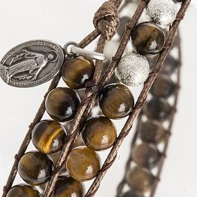 Tiger's eye bracelet 6mm s2