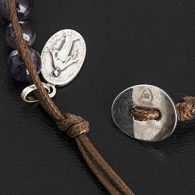 Amethyst bracelet 6mm s6