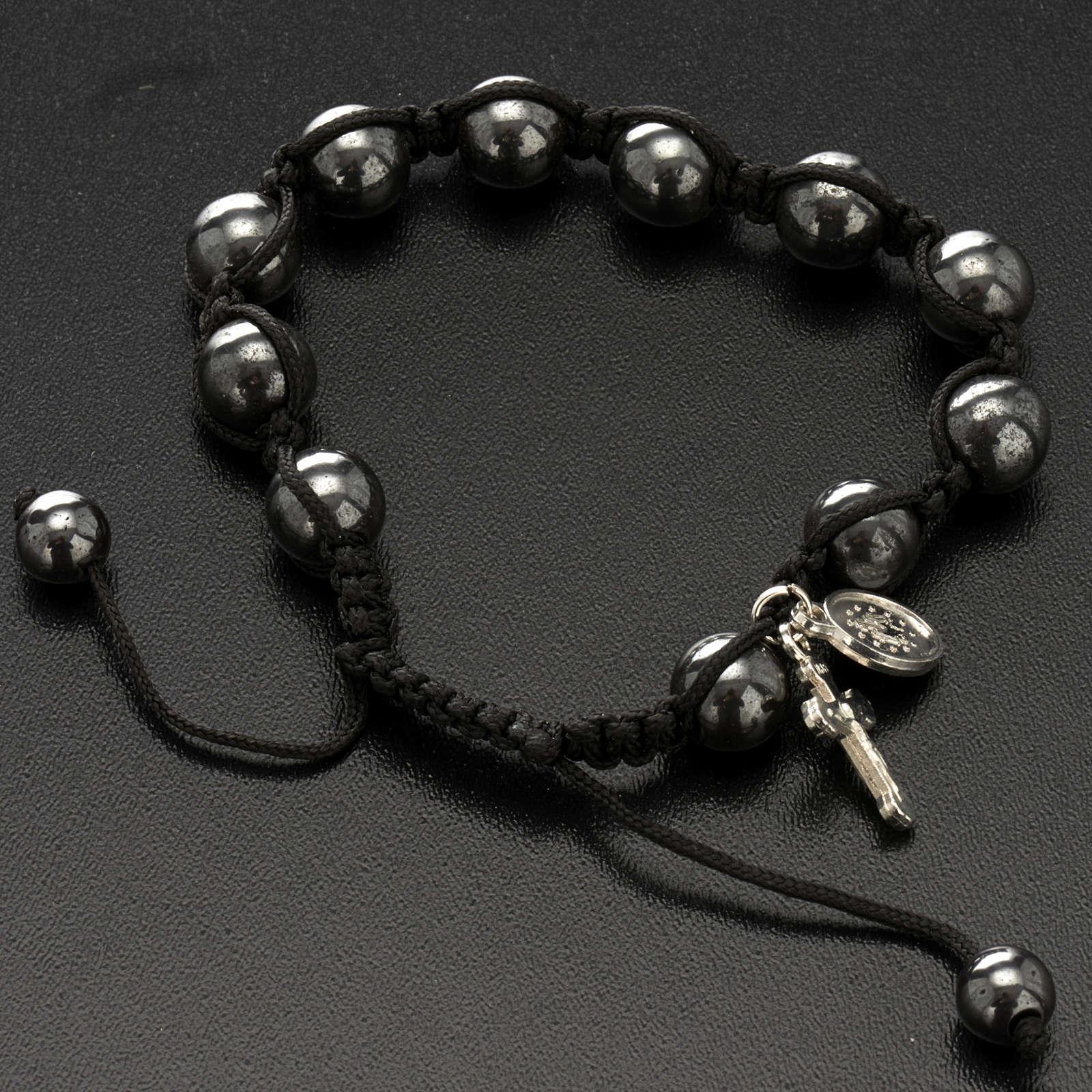 Bracelet hématite 4