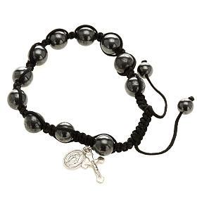 Bracelets divers: Bracelet hématite
