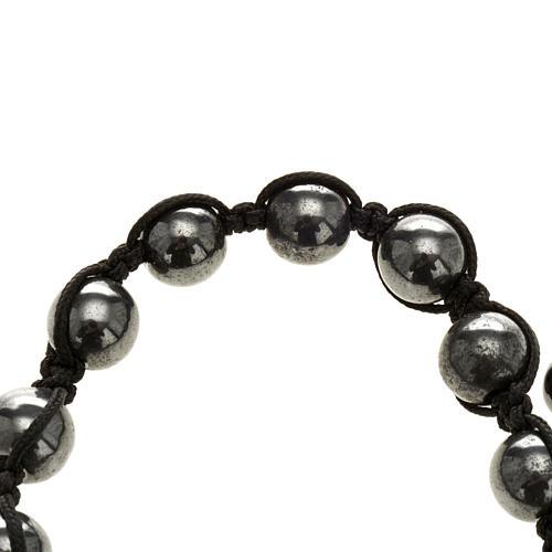 Bracelet hématite 3