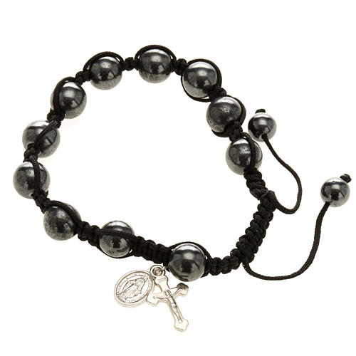 Hematite bracelet 1