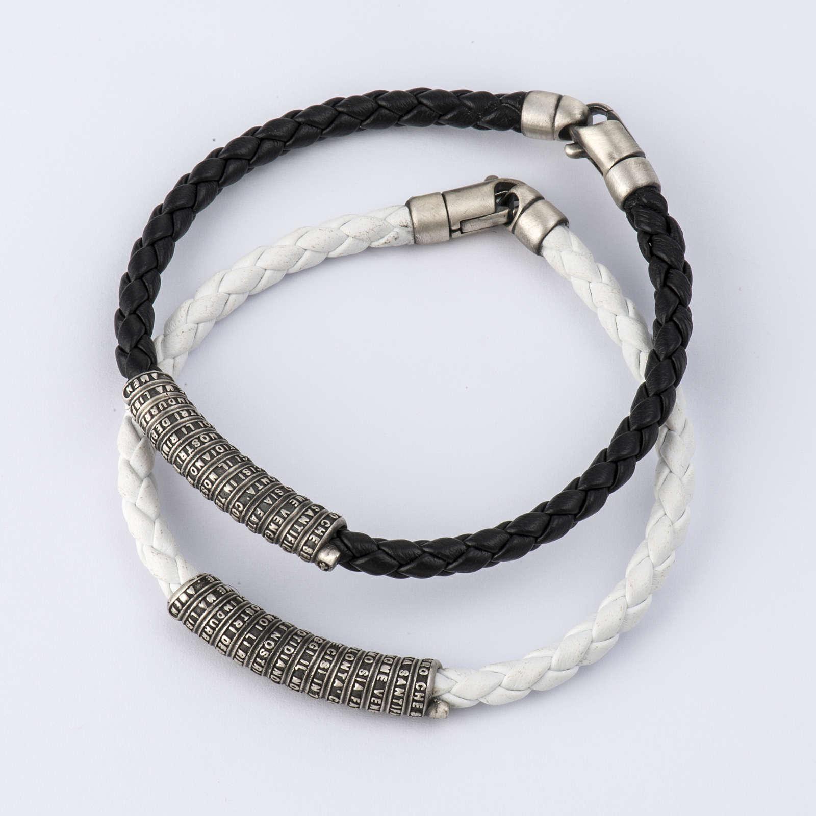 Bracelet Miraculeuse corde perles cristal et bois 4
