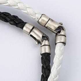 Bracelet Miraculeuse corde perles cristal et bois s5