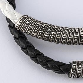Bracelet Miraculeuse corde perles cristal et bois s7