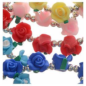 Bracelet élastique avec roses s7