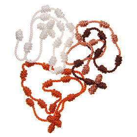 STOCK Rosenkranz Armband aus Seil gemischte Farbe s2