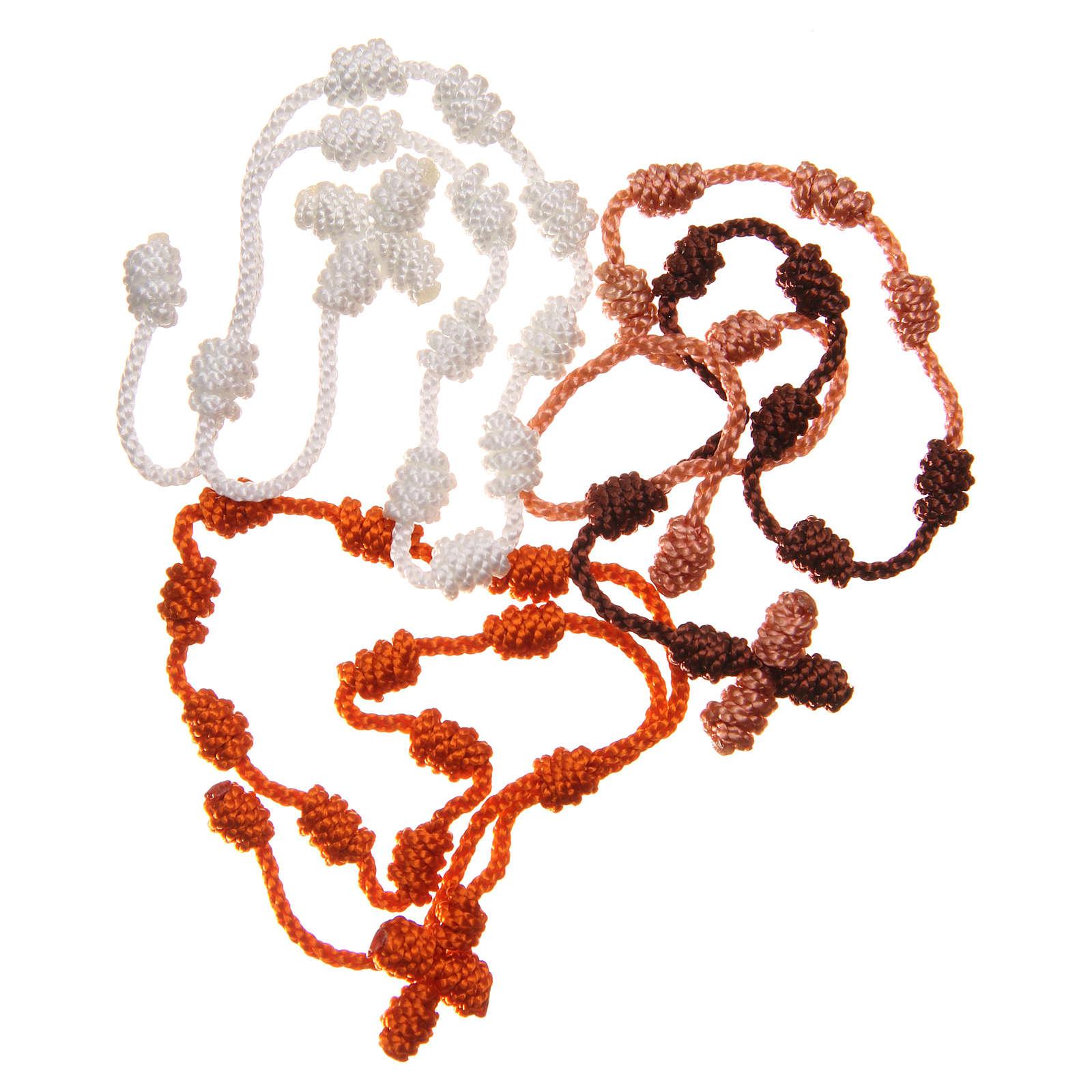 STOCK Bracciale basco in corda colori assortiti 4
