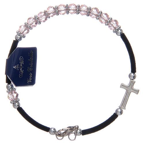 Dozen rosary bracelet assorted crystals 3