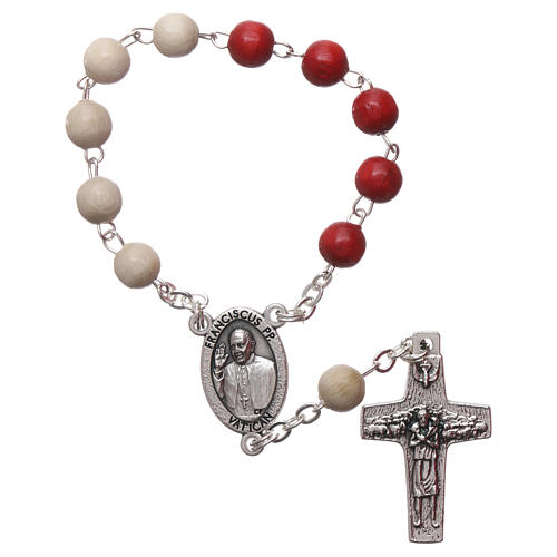 Rosary decade Jubilee of Mercy Pope Francis 1