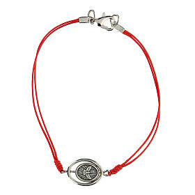 Bracelet Sainte Famille corde rouge 9 mm s2