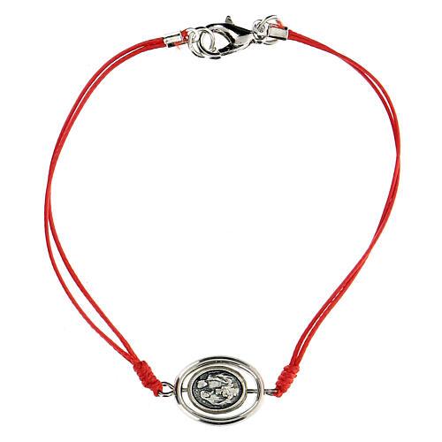 Bracelet Sainte Famille corde rouge 9 mm 1