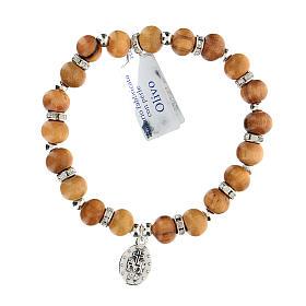 Bracelet élastique Vierge Miraculeuse 5 mm s1