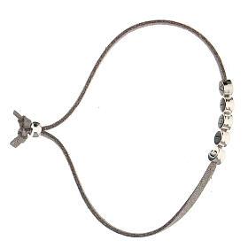 Bracelet Gioia alcantara gris s3